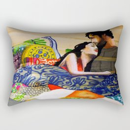 Vibrant love  Rectangular Pillow