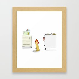 Posey Framed Art Print