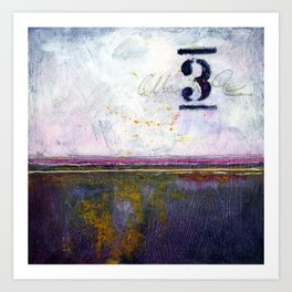 Small Abstract - No. 3 Art Print
