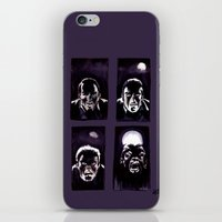 howl iPhone & iPod Skins featuring Howl by Zombie Rust