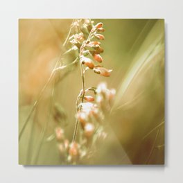 GOLDEN SPANGLES Metal Print