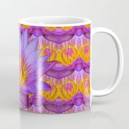Nymphaea violacea - Amazonian Flower Coffee Mug
