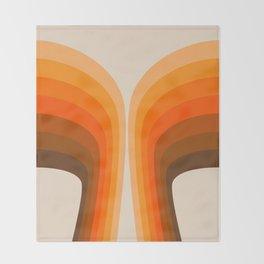 Golden Wing Throw Blanket
