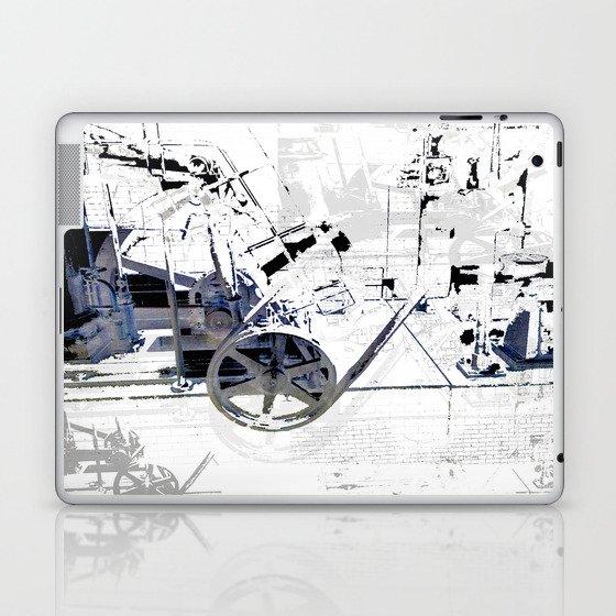 Cotton Spin  Laptop & iPad Skin