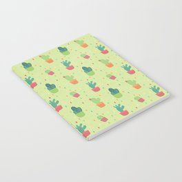 Cactus Party Pattern Notebook
