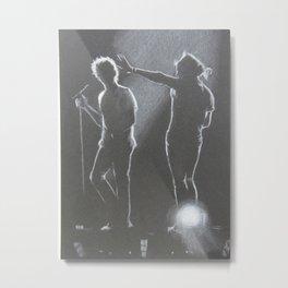 Harry Styles and Louis Tomlinson II Metal Print
