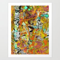 Abstraction 2 Art Print