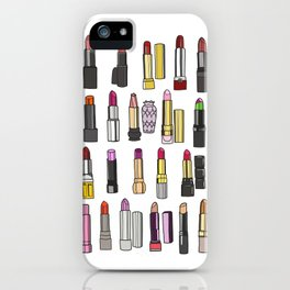 Your Favorite Lipsticks iPhone Case