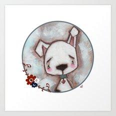 Dog  - by Diane Duda Art Print