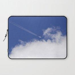 Flying Airplane Laptop Sleeve