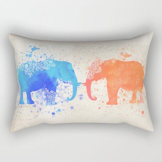 love elephants Rectangular Pillow