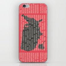 50 States of America iPhone & iPod Skin