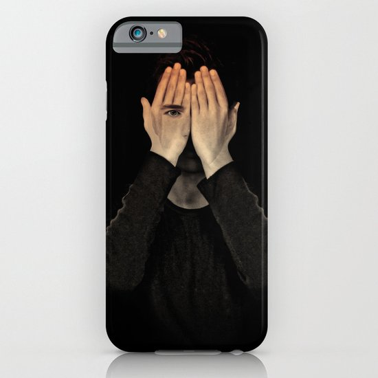 Eyes did not see, mind did not look iPhone & iPod Case