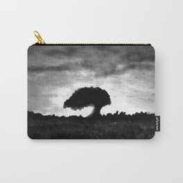 Exmoor Tree at Sunset Carry-All Pouch