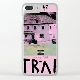 2 Chains- Pretty Girls Like Trap Music Clear iPhone Case