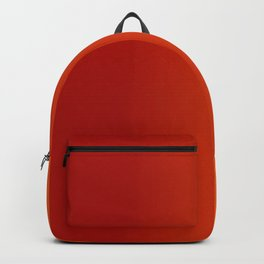 Ombre in Red Orange Backpack