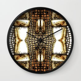 Go Gold Or Go Home Wall Clock