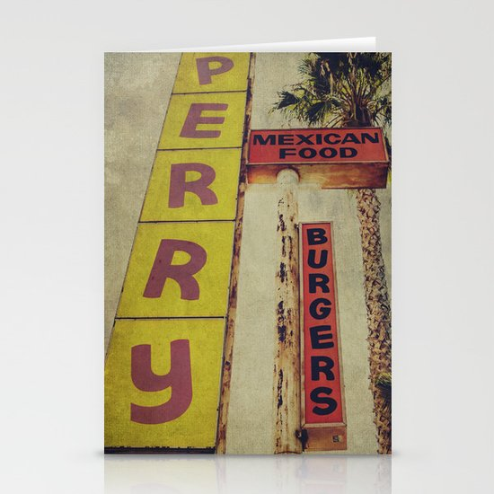 Perry's Vintage Sign Stationery Cards