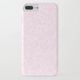 Pink Paisleyesque iPhone Case