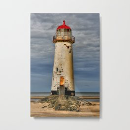 Crooked Lighthouse  Metal Print