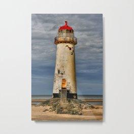 Crooked Lighthouse  Metal Print