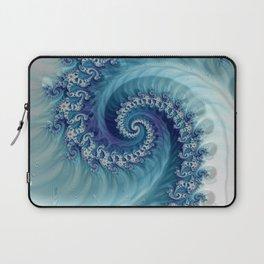 Sound of Seashell - Fractal Art Laptop Sleeve