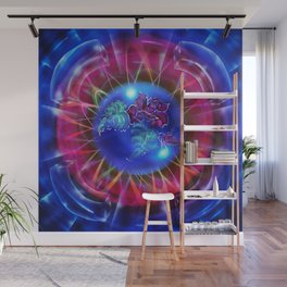 Abstract in perfection - Fertile Imagination Rose 2 Wall Mural