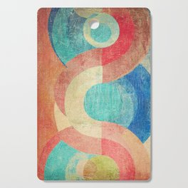 Yin Yang and Something More Cutting Board