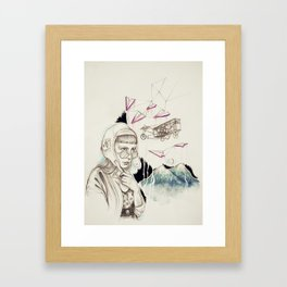 adventures Framed Art Print
