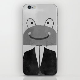 happy man iPhone Skin