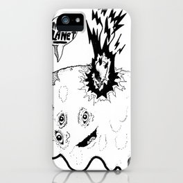 MEAT PLANET! iPhone Case