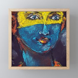 Fallout 76 - The Girl From The Shelter Framed Mini Art Print