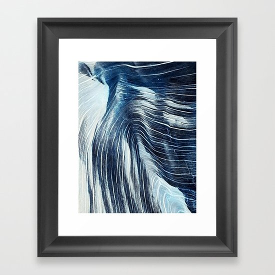 wood you Framed Art Print