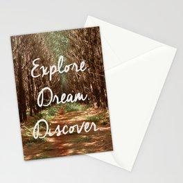 Explore. Dream. Discover. Stationery Cards