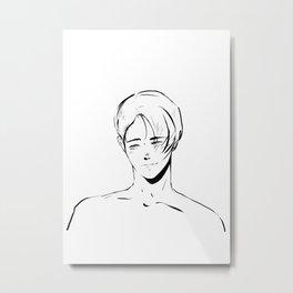 victor - yuri on ice Metal Print