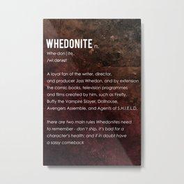 Whedonite Metal Print