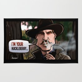 I'm Your Huckleberry (Tombstone) Rug