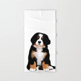 Bernese mountain dog puppy Hand & Bath Towel