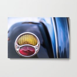 Tail Light Classic Car Metal Print