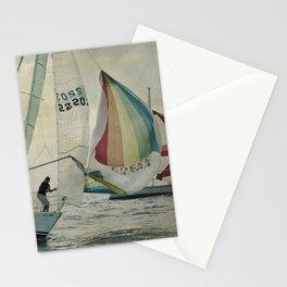 Spinnaker up Stationery Cards