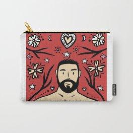 Beard Boy: Feliz Navidad Carry-All Pouch