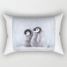 Cute Penguins (Thefreeminder) Rectangular Pillow