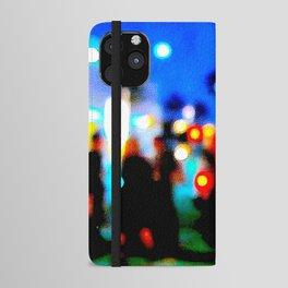 LA at Night iPhone Wallet Case