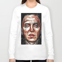 christopher walken Long Sleeve T-shirts featuring Walken by Dnzsea