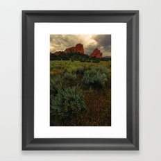 Pike's Meadow Framed Art Print