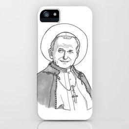 Pope St. John Paul II iPhone Case