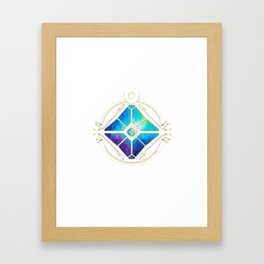 Nebula Ghost Framed Art Print