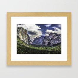 YOSEMTIE VALLEY Framed Art Print