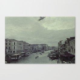Venice Rialto Bridge Canvas Print