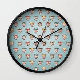 Hentities Demons Wall Clock